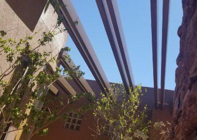 Kachina 31 courtyard